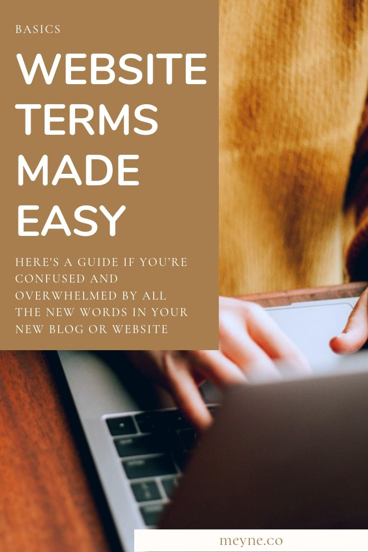 Website terms made easy