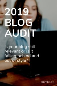 2019 blog audit