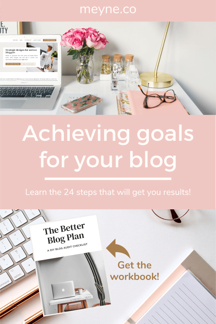 Achieving goals for your blog