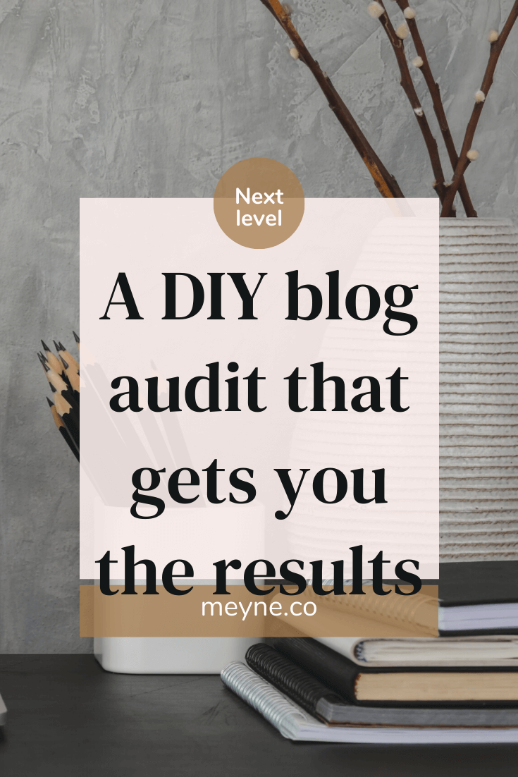 A DIY Blog audit that gets you the results