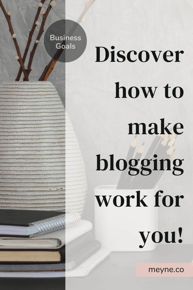 Discover how to make blogging work for you